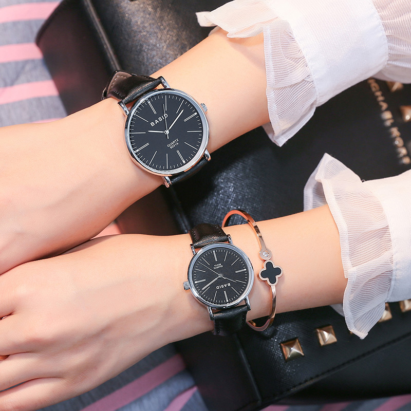 BASID Brand Women Watch Casual Unique Quartz Wrist Watches Luxury Ladies Fashion Couples Watch Relogio Feminino Montre Femme kingsky luxury brand women wrist watches fashion casual quartz watch for lady steel strap relogio feminino 2016 montre femme