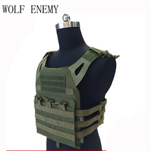 Em FLY JPC Tactical Vest Quick Reaction Ontological Vest 1000D Molle Military Chest Protective Plate Carrier Vests