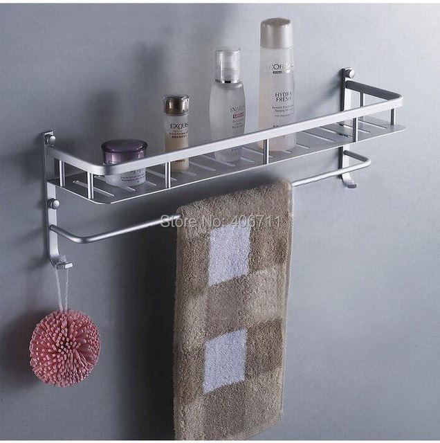 40cm 50cm  bathroom shelf  Strongest Practical design bathroom accessories multi-functional commodity shelf space aluminum