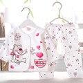 2016 девочка одежда детская одежда мальчик милый мультфильм детская одежда новорожденного осенью устанавливает хлопок костюм AY-81148
