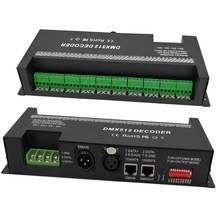 30 канала RGB dmx512 декодер светодиодные полосы dmx-контроллер 60A dmx диммер ШИМ драйвер Вход DC12-24V 30CH dmx декодер свет управления