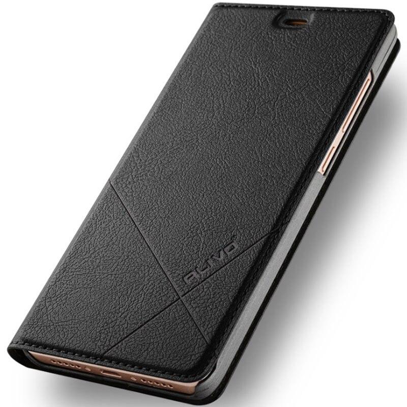 ALIVO Marca Xiaomi Redmi 3 s cassa Del Raccoglitore Custodia In Pelle xiaomi redmi 3 3 s caso del basamento di Vibrazione Della Copertura del Cuoio Per redmi 3 s 3 s pro 5.0