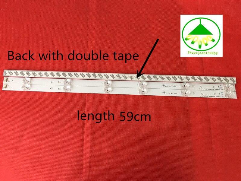100%NEW 32LB5610-CD LED Strip CEM-3-S94V-0 1506 LED for LG LC320DUE-FGA3 32LB550B 32LB570B 32LB561B 32LB5700 3Piece/Lot
