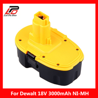 18V Ni MH 3.0Ah Replacement Power Tool Battery For Dewalt DC720 DC825 DC925 DCD925 DC988 DW936