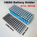 5P14S 18650 titular Usado para 14 S 51.8 V 10ah bateria li-ion 12Ah 15Ah bateria de lítio 5*14 50.4 V baterias titular/suporte