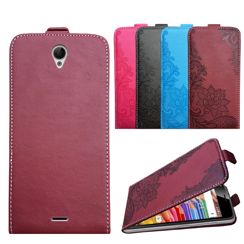 3D Stereo Embossing lace flower butterfly flip up and down leather phone bag cover case for <font><b>Oukitel</b></font> <font><b>K4000</b></font> image