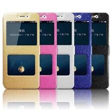 For Xiaomi Redmi 7 Case Redmi7A Quick Answer View Window PU Leather Flip 7A Phone Cases Coque Redmi7 A