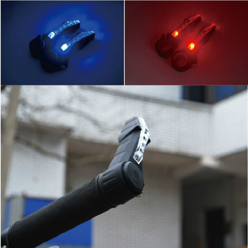 1 Pair Cycling Lights Turn Signal Bicycle Light Waterproof Bike Light Safty Bike Accessories Bicycle Turn Signal Warning Lamp