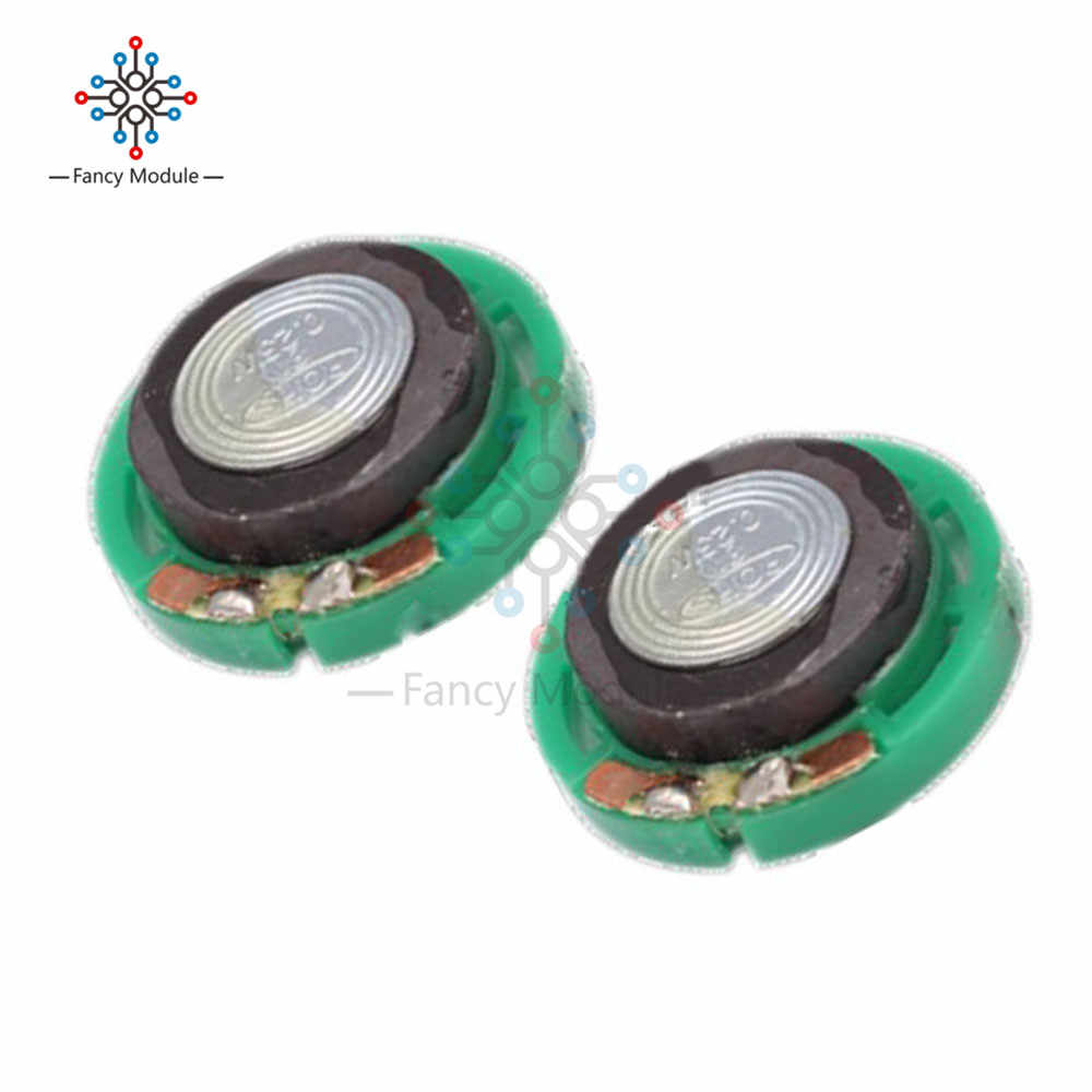 2Pcs Loudspeaker 0.25W 8ohm Small Trumpet 29mm Stereo Loud Speaker