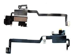 Image 2 - Наушники для iPhone X / XS / XSM Max XR XSMax 11 11PRO MAX, динамик с датчиком приближения, гибкий кабель