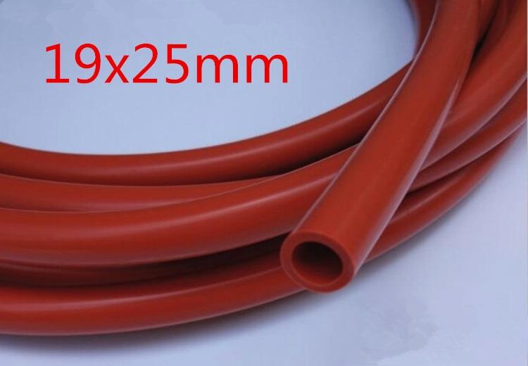 Id 18x25mm Od Food Grade Silikon Gel Gummi Schlauch Weiche Flexible Trinken Wasser Milch Rohr Anschluss Rohr Temperatur Widerstand Sanitär