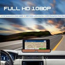 4G / 3G ADAS Dual Lens Car DVR Camera Wifi Android GPS Navigation 1080P Auto Video Recorder Registrar Dash Cam Parking Monitor