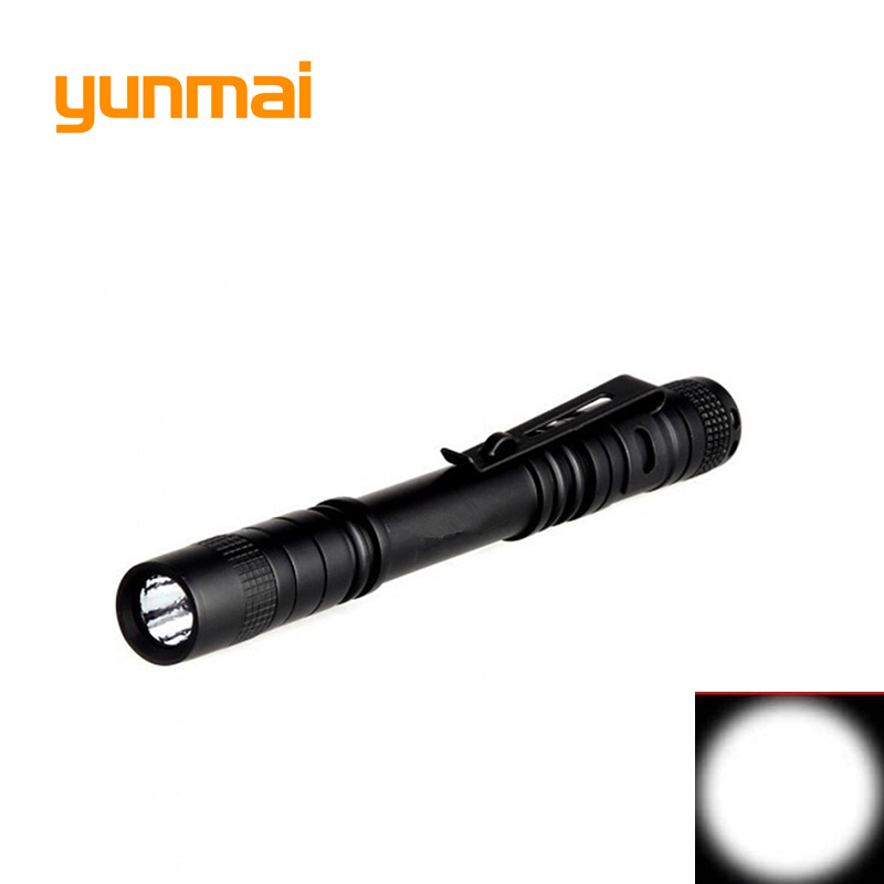 High Quality NEW Q5 XPE Waterproof 1 Mode Mini LED Flashlight Focus Torch Lights Lanterna Torch Lighting Camping Hiking 2*AAA