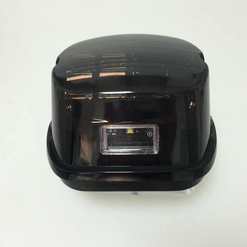 Задний фонарь для мотоцикла светодиодный дымчатый стоп сигнал 12 В номерной знак