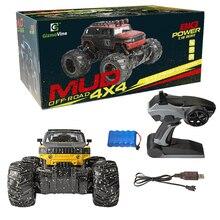 RC Dirt Bike 1/16 4 Wheel Drive Rock Crawler Rally Car
