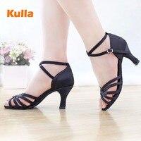 Для женщин Salsa Обувь для танцев для бальных танцев Танго латины Обувь для танцев 5 см и 7 см каблуке Salsa Танцы обувь на высоком каблуке для взро...