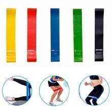 купить Stretch Belt Fitness Resistance Bands Cross Yoga Rubber Loop Sport Fit Training Equipment Workout Pilates Elastic Exercise Band по цене 61.38 рублей