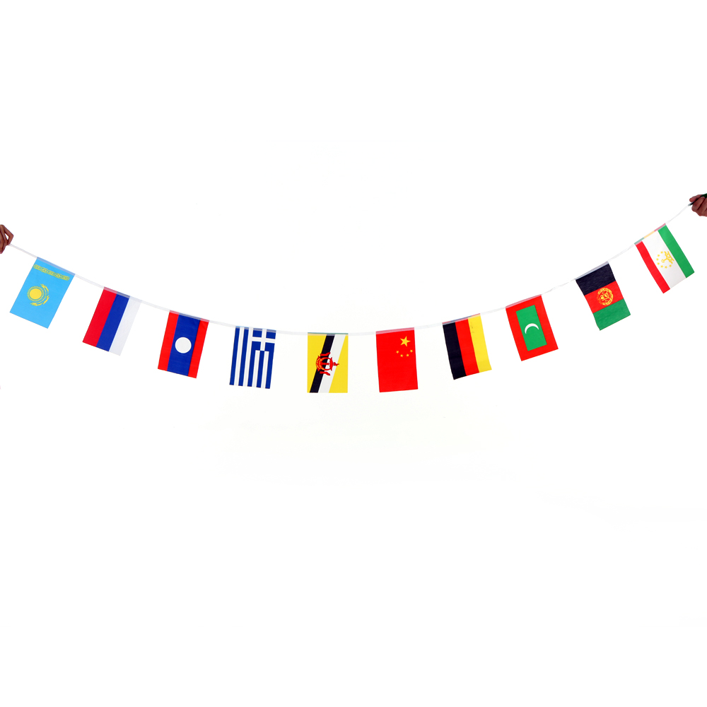 aliexpress :  2016 olympics 100 countries world string flag