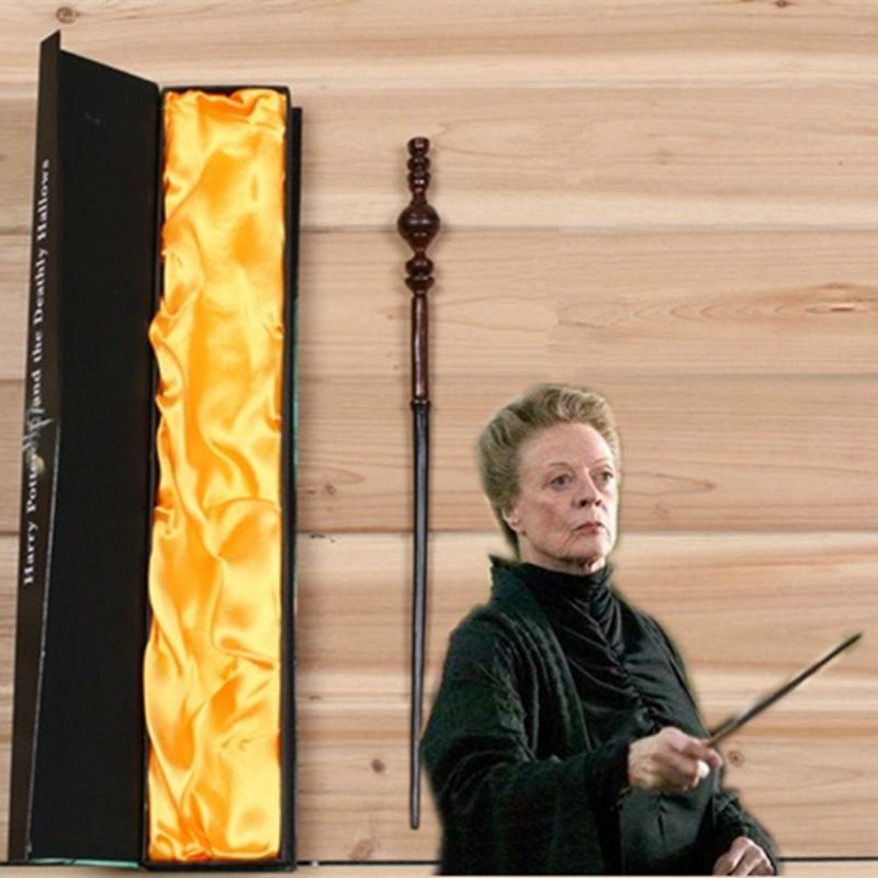 Magic Trick Creavite Minerva Mcgonagal Magic Wand Harry Potter Cosplay Barnleksaker Halloween present med högkvalitets boxpackning