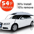 Car Sun Shade Covers Outdoor UV Protection Car Umbrella Sun Shield Travel Car Accessories
