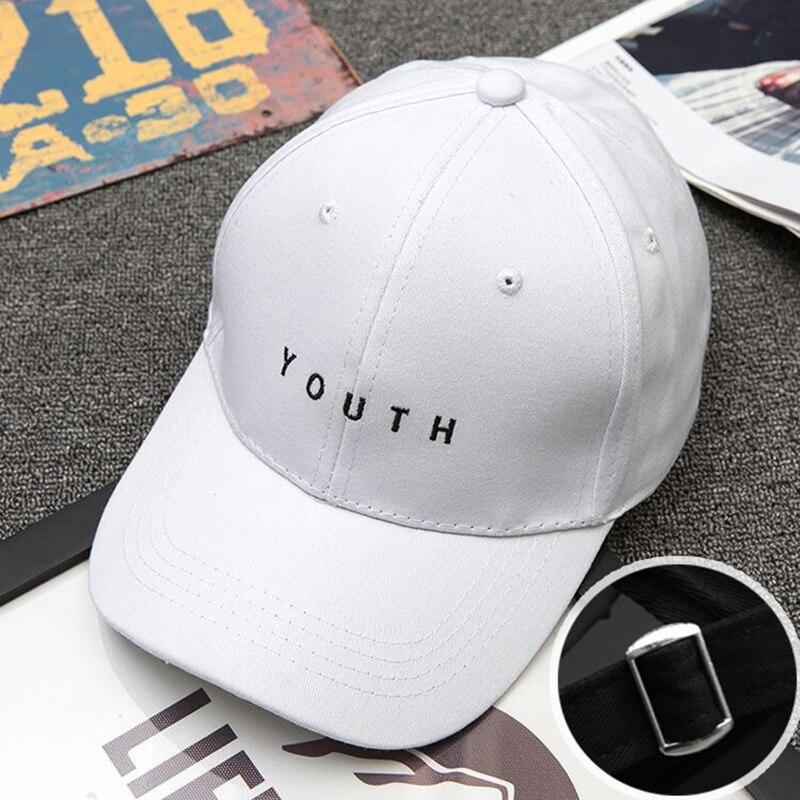 Brand Men women Baseball Caps Dad Casquette Women Snapback Caps Bone Hats For Men Fashion Vintage Gorras Youth Letter Cap white