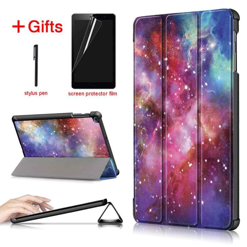 حقيبة لهاتف سامسونج galaxy tab a 10.1 2019 SM-T510 T515 اللوحي ل galaxy tab a 10.1 2019 غطاء حالة + هدية