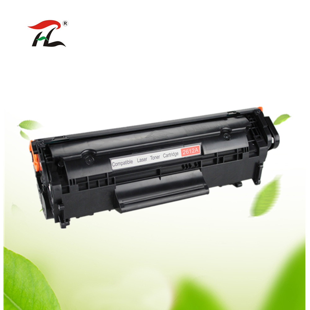 Compatible toner cartridge for HP Q2612A 2612A 12a 2612 LJ <font><b>1010</b></font> <font><b>1012</b></font> <font><b>1015</b></font> <font><b>1018</b></font> <font><b>1020</b></font> <font><b>1022</b></font> 3010 3015 3020 3030 3050 M1005 series image