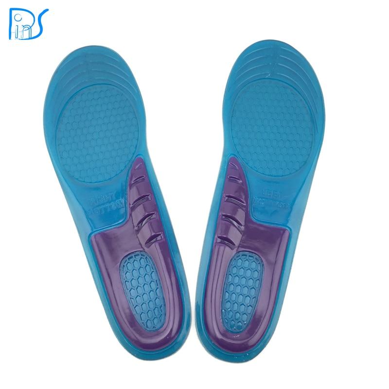 Крем для ног 1 пара для мужчин и женщин ортопедических Arch Поддержка спортивной обуви гель массажные стельки Run pad