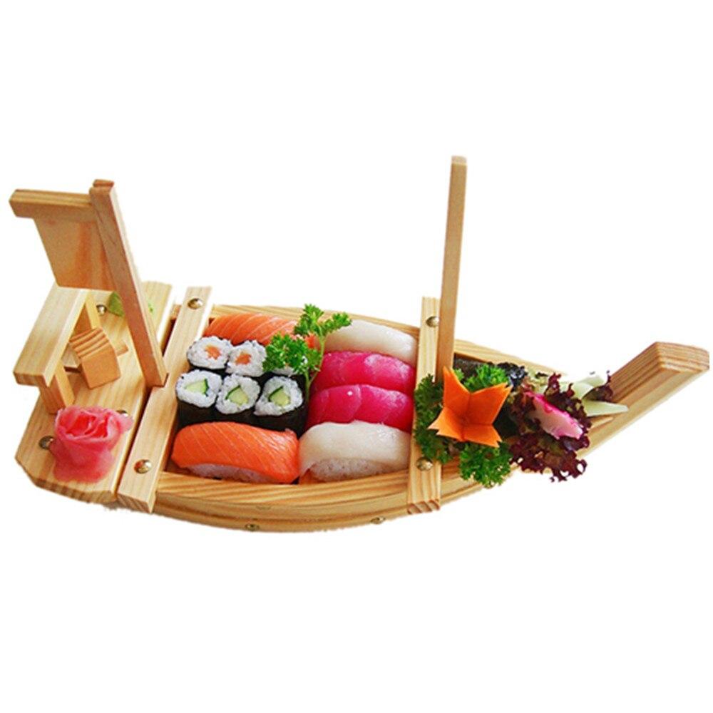 Kitchen DIY Sashimi boat white dragon boat connecting rod sushi boat ...