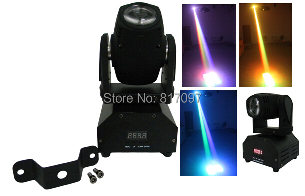 8pcs/lot Led Moving Head Light Beam 12W RGBW 4in1 Cree Imported LED Moving Head Stage Lighting DMX Show Light Disco DJ PARTY