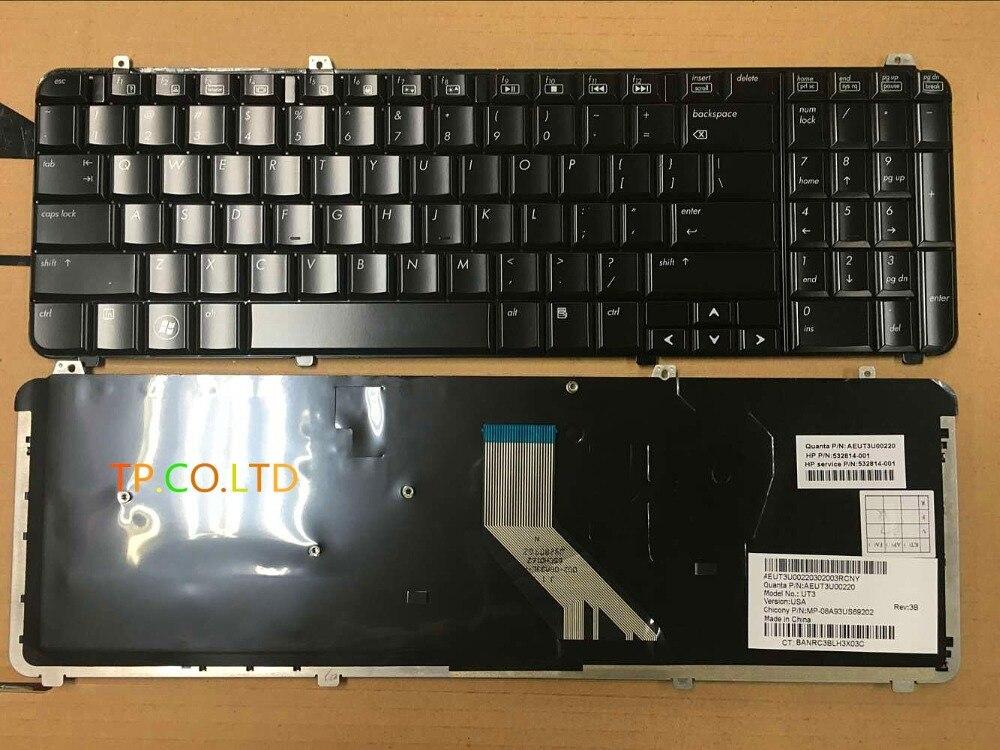 Free Shipping New Laptop Keyboard  For HP Pavilion DV6 DV6T DV6-1000 DV6-1200 DV6T-1100 DV6T-1300 DV6-2000 Service US