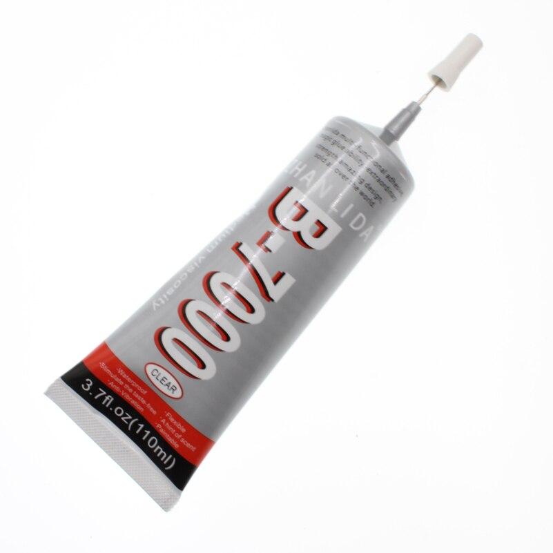 110 ml liquide B-7000 colle Super clair industriel adhésif bois métal époxy école B7000 écran tactile UV résine thermique tissu Bts