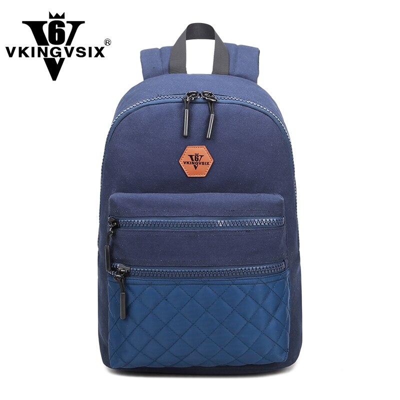 vkingvsix mochilas de lona da Técnica : Gravando