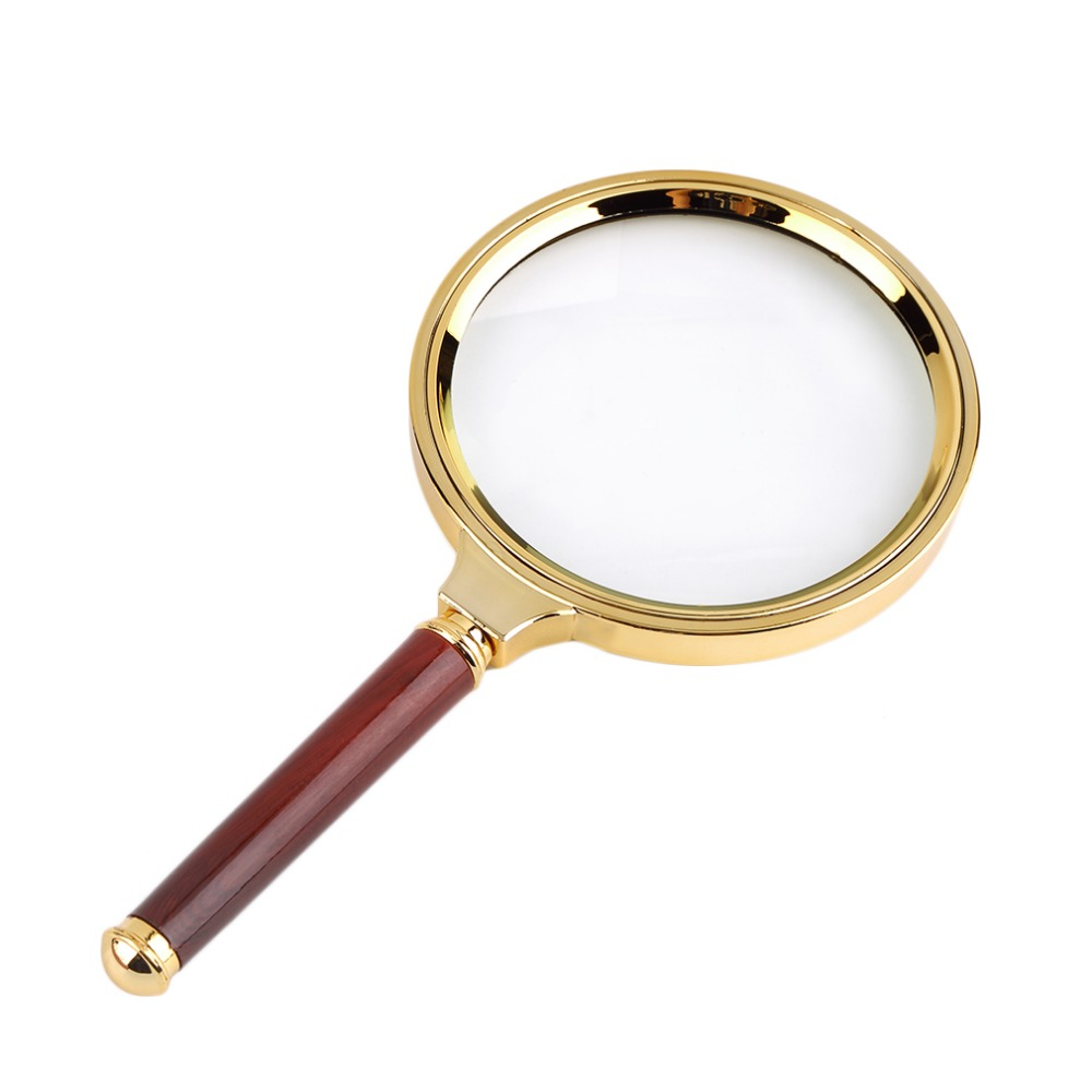 Reading Earrings: 1 Pcs Classic 90mm Handheld 10X Magnifier Magnifying Glass