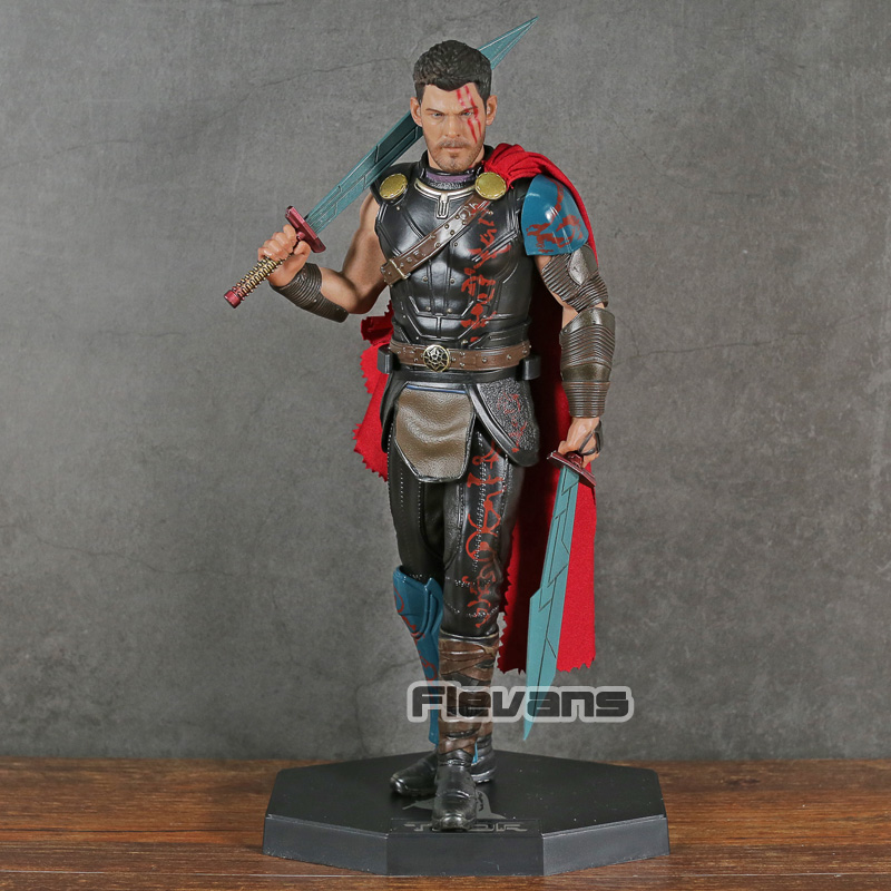 Crazy Toys Thor Gladiator Deluxe Version Ragnarok 1 6 Scale PVC Figure Collectible Model Toy