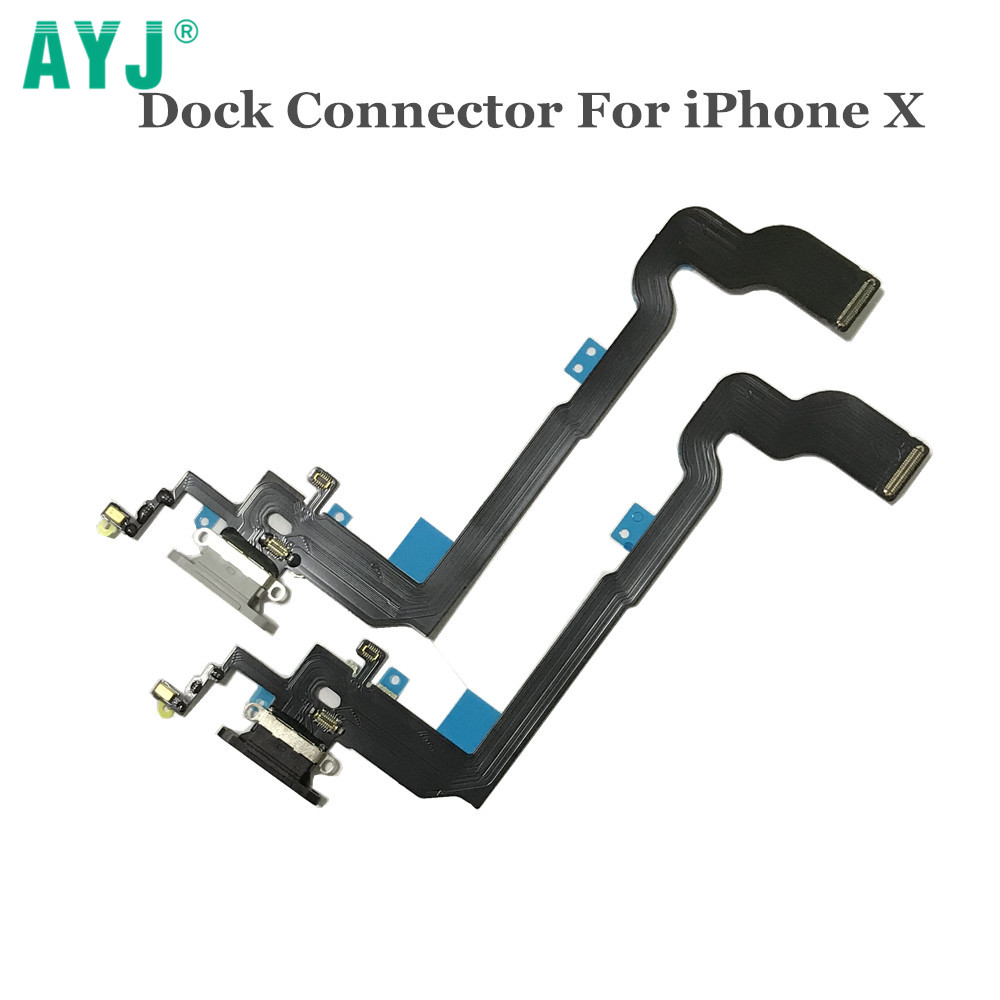 AYJ High Quality USB Charger Dock Connector For IPhone X Cherger Port Charging Port Flex Cable For IPhoneX