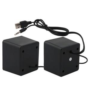 Image 2 - Portable speaker Mini USB 2.0 speakers Music Stereo for computer Desktop PC Laptop Notebook home theater