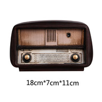 Bar Retro Old Style Home Decor Crafts Vintage Radio Ornaments W3092