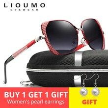 цена на 2019 Brand Design Luxury Polarized Sunglasses Women Female Gradient Butterfly Sun Glasses Ladies Vintage oversized Oculos De Sol