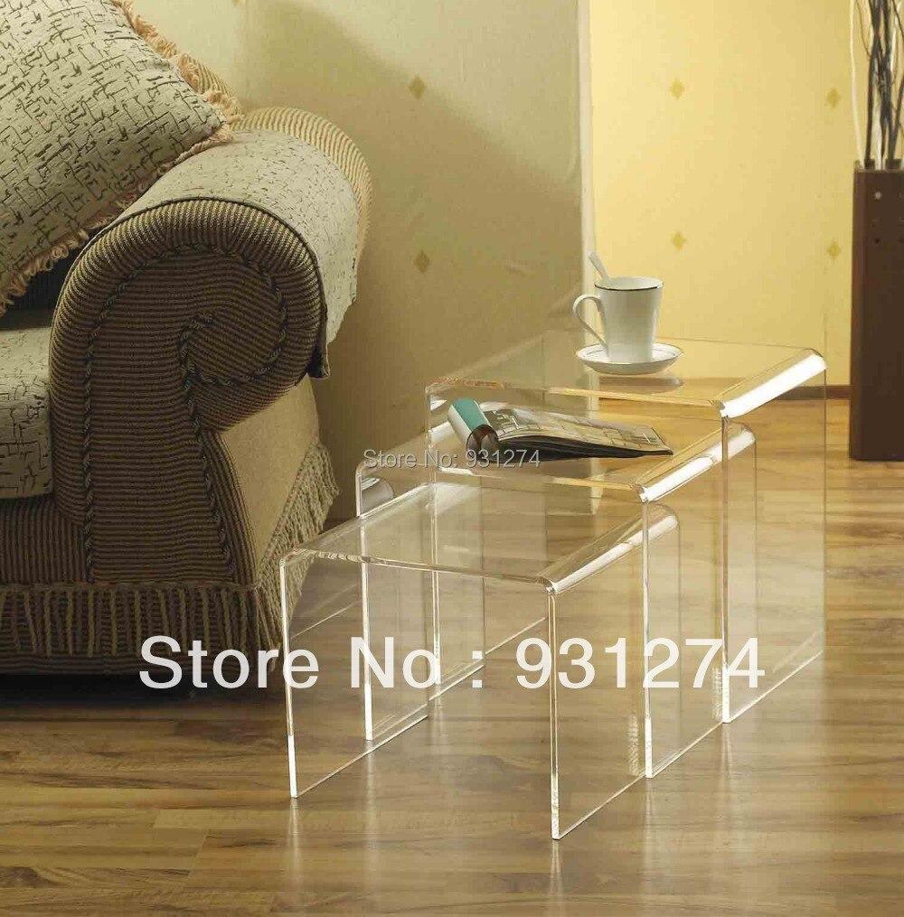 Latest Ideas Acrylic Side Table : Charming Acrylic Side Table Images Ideas - Golime.co