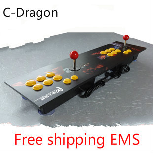 Cdragon Double rocker pc joystick usb mouth double arcade two players computer arcade game rocker free shipping
