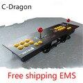 Cdragon Duplo roqueiro pc joystick usb boca dupla arcada dois jogadores jogo de computador arcada roqueiro frete grátis