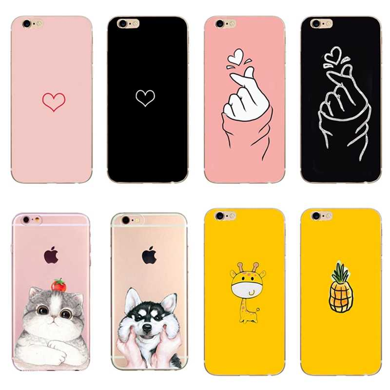 Cute Unicorn Rabbit Marble Stone Case Cover For iphone 5 5s se ...
