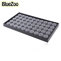 New Arrival 50 Grids Display Box Nail Art Beauty Accessories Collection Cells Plastic Storage Box Case