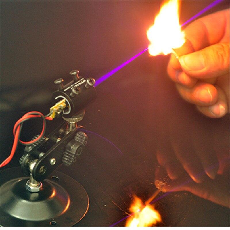 100mW 405nm Blue Laser Module 5V Input , Burn matchs for DIY