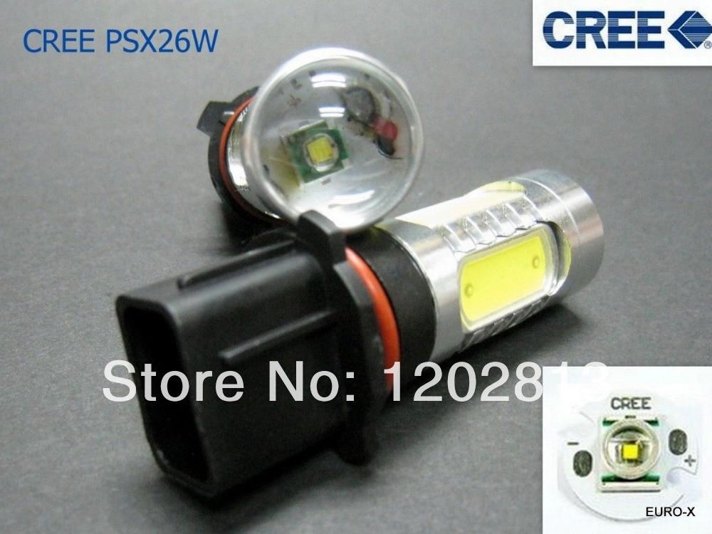 Good item! 2PCS SH23W P13W CREE Chip <font><b>LED</b></font> bulb 11W Fog Running Lights DRL ANTI BROUILLARD SANS ODB ABFEUX DE <font><b>JOUR</b></font> ALFA ROMEO MITO