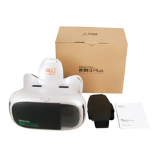 ขายร้อน! RITECH IIIบวกVR 360ดูที่สมจริงความจริงเสมือน3D VRชุดหูฟังของG Oogleกระดาษแข็งเกมแว่นตา+การควบคุมระยะไกล