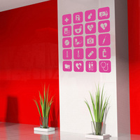 Hospital Clinic Vinyl Decal Medical Sign Logo Wall Sticker Front Table Mural Art Sticker Wall Decorative Decor Sticker For Room