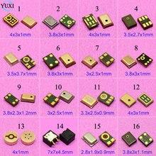 Yuxi 16 모델 일반적으로 사용되는 마이크 내부 마이크 스피커 수신기 수리 부품 삼성 노키아 htc 레노버 모토 등