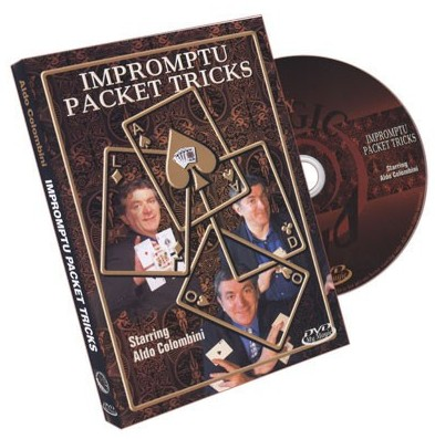 Aldo Colombini - Impromptu Packet Tricks Magic Tricks